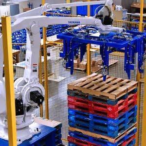 ربات پلتایزینگ
